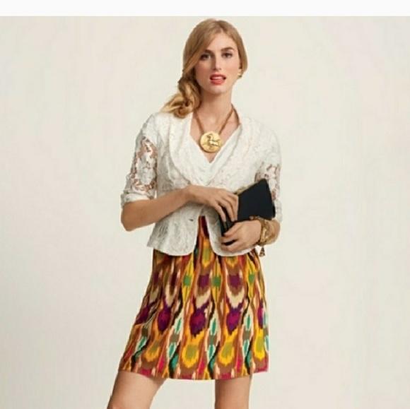 CAbi Dresses & Skirts - CAbi Multi Color Mini Skirt